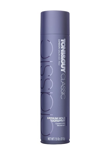 Toni&Guy Medium Hold Spray 250 Ml Renksiz